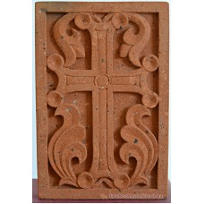 Small decorative cross stone made of Armenian tuf ~21x30cm
